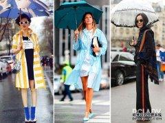一言分歧就下雨 暴雨气候怎样穿才时尚